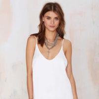 Slip Dress Blanco
