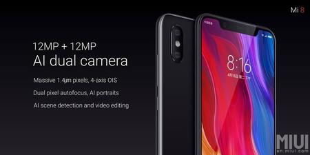 Xiaomi Mi 8 Camara Dual