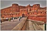 India: Agra Fort y la alargada sombra del Taj Mahal