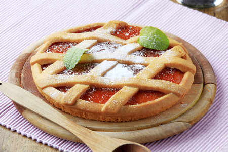 Crostata de membrillo