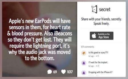 Los EarPods con sensores, o cómo uno de los rumores más fuertes nació de una invención