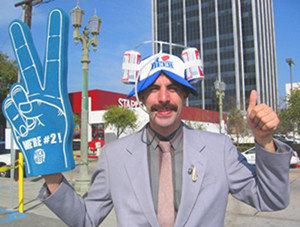Borat vs Kazajstán