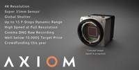 Apertus Axiom Camera: Una cámara Open Source 4K