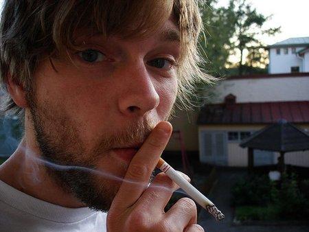Papás que no dejan de fumar