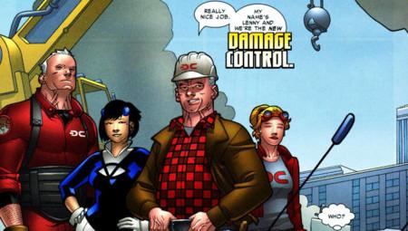 Marvel se mueve hacia la comedia con 'Damage Control'