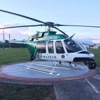 Medellín estrena helicóptero equipado con tecnología para perseguir delincuentes