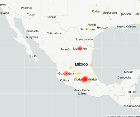 2021 05 17 20 36 49 Mapa De Fallos Y Problemas Notificados De Facebook Downdetector Y 6 Paginas Ma