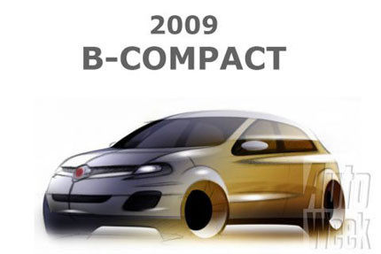 Fiat B-Compact y Fiat C X-Over, ¿serán así?