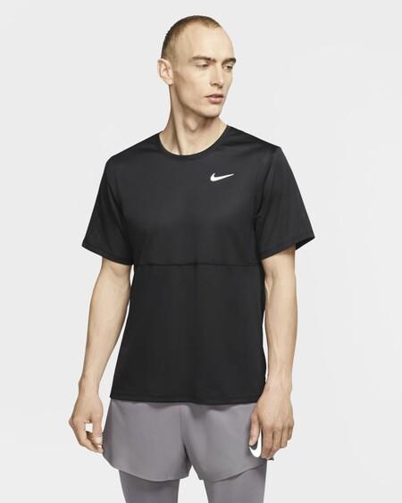 Breathe Camiseta De Running Qzlf8n