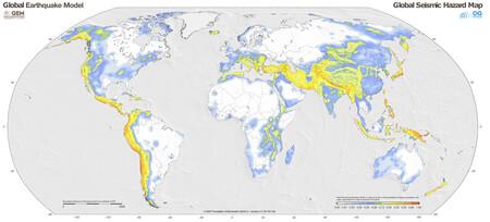 Mapa Riesgo Terremotos