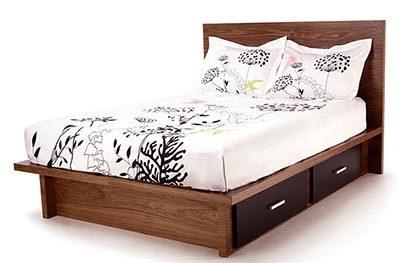 Wonk: espacio de almacenamiento bajo la cama