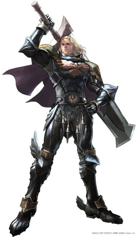 Siegfried en Soul Calibur V