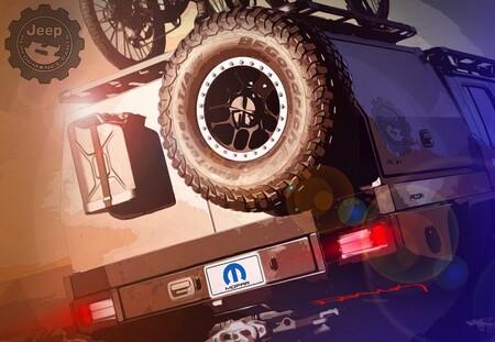 Jeep Gladiator prepara una gran sorpresa para el SEMA360 y adelanta un discreto teaser