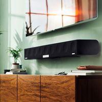 La barra de sonido Ambeo de Sennheiser  llegará esta primavera dispuesta a darle vida a tu tele plana