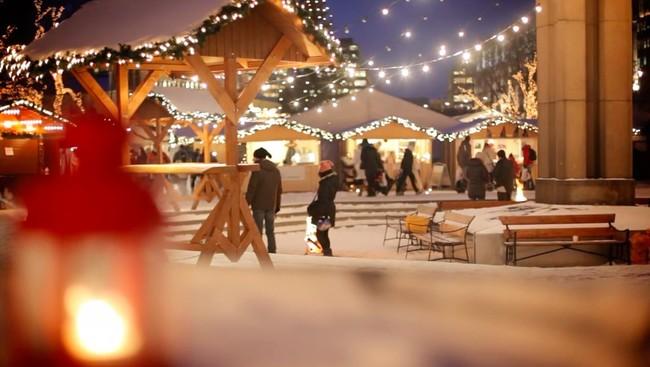 Entre adornos navideños, dulces de jengibre y vino caliente: los mercadillos de Navidad de Oslo