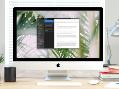 Ulysses 2.7, el editor de textos para Mac ahora soporta Touch Bar y pestañas de macOS Sierra
