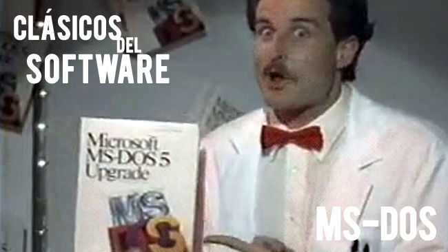 Clásicos del software: MS-DOS