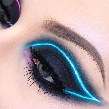 ¿Te atreves con los maquillajes de neón? Es la nueva tendencia que aterriza en Instagram