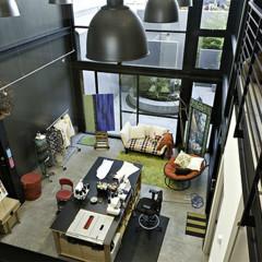Foto 2 de 4 de la galería puertas-abiertas-una-casa-de-varias-alturas-en-san-francisco en Decoesfera