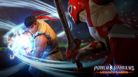 Power Rangers y Street Fighters juntos y revueltos en un juego de lucha para móviles
