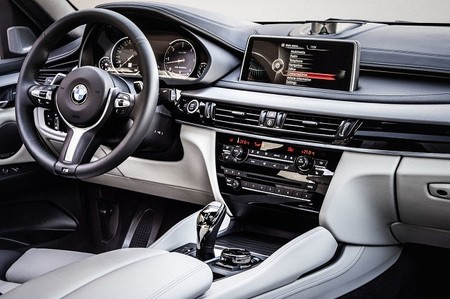 BMW X6 2014 - interior
