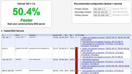 Encuentra tu servidor DNS más rápido con Namebench