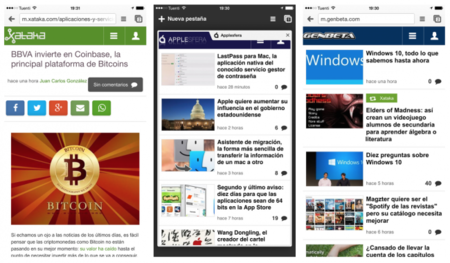 Chrome 40 llega a iOS: Hand Off, Material Design y optimizado para los iPhone 6
