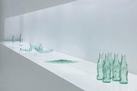 Recicladecoración: una vajilla fabricada a partir de botellas de Coca-Cola