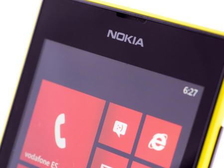 Pantalla del Nokia Lumia 520