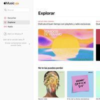 Apple lanza una beta de la web de Apple Music con el rediseño de iOS 14 y macOS Big Sur
