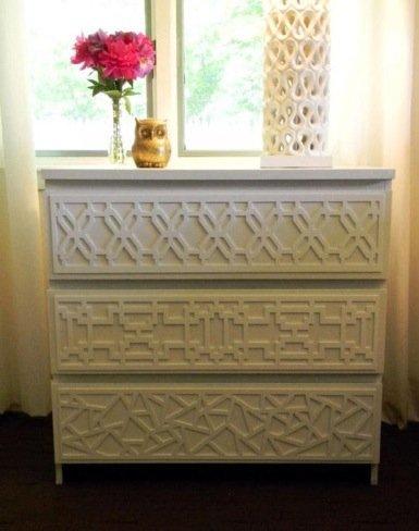 O'verlays, grecas superpuestas para decorar muebles, paredes, ventanas...