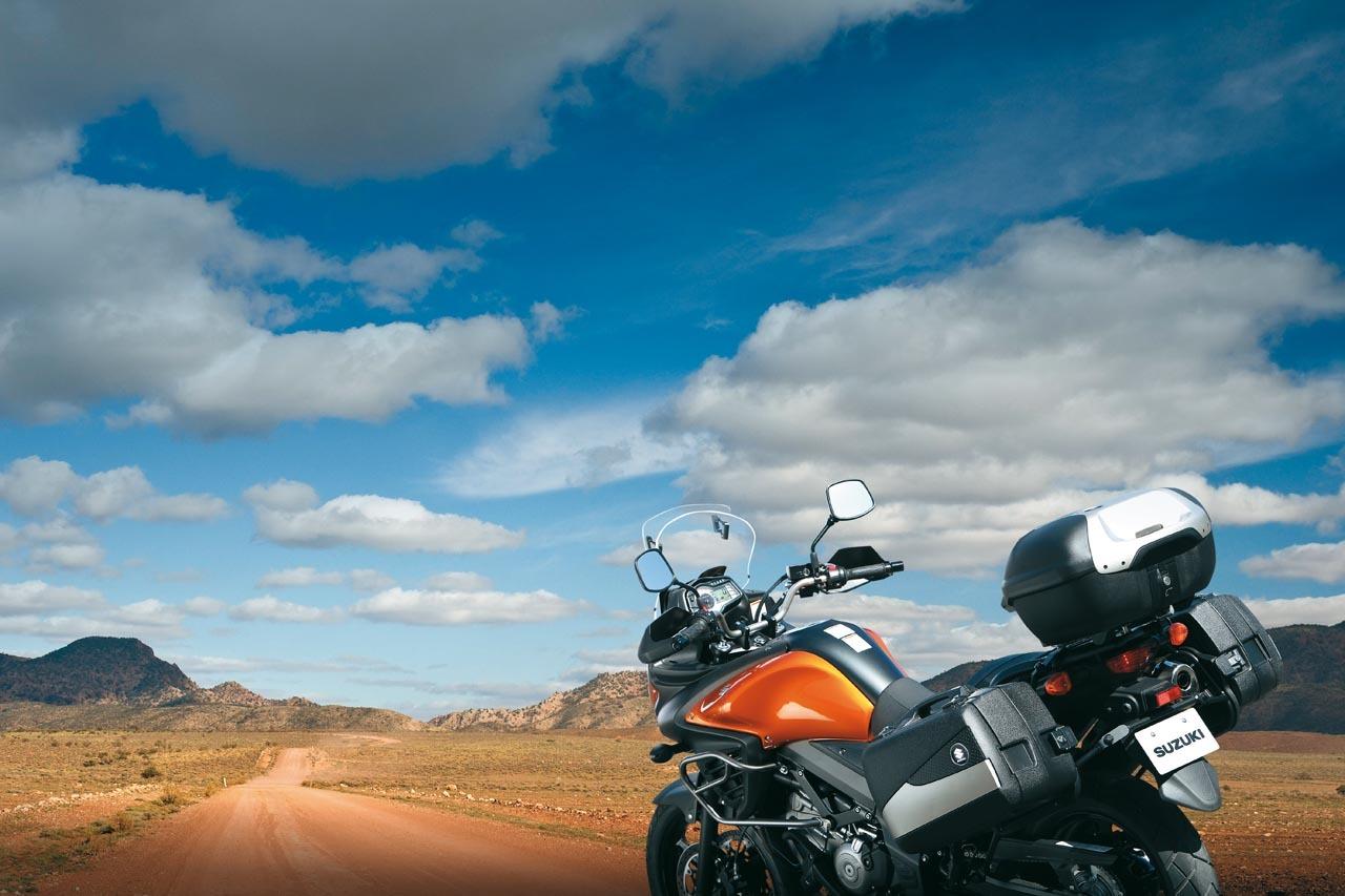 Foto de Suzuki V-Strom 650 2012, fotos de ambiente y accesorios (1/32)