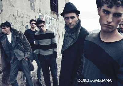Dolce & Gabbana Otoño-Invierno 2011/2012 la campaña más taciturna y bohemia de la temporada