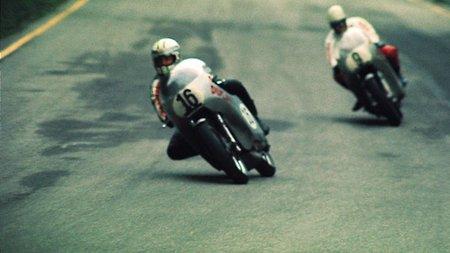 Paul Smart sobre la Ducati 750