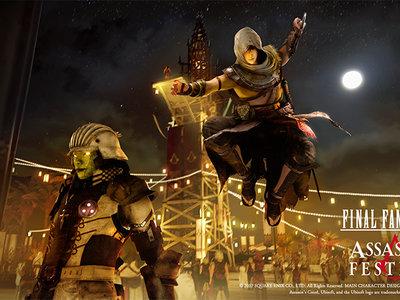 El festival de Assassin's Creed en Final Fantasy XV abre sus puertas con la actualización 1.14