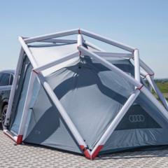 Foto 2 de 6 de la galería audi-q3-camping-tent en Motorpasión México