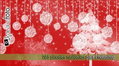 285 Pinceles navideños para Photoshop