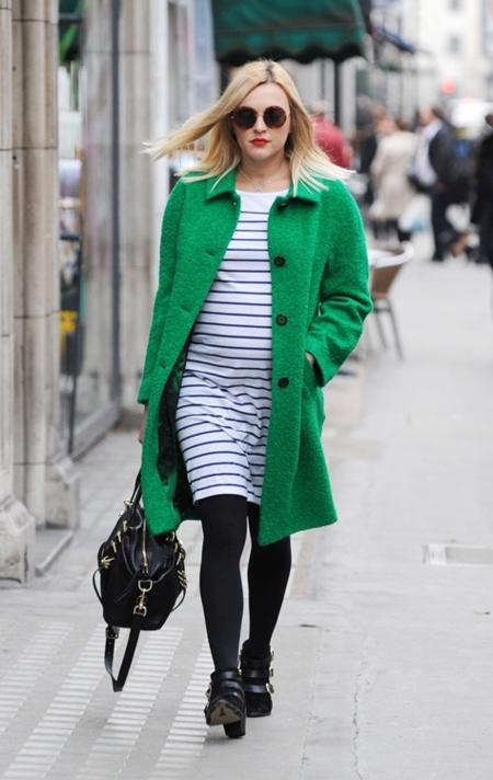 ferane cotton abrigo verde