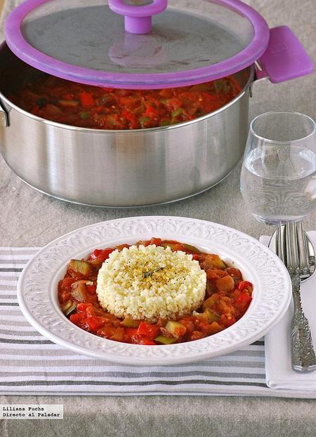 Receta de pisto al curry con mijo
