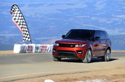 Range Rover Sport, el 4x4/SUV de serie más rápido en Pikes Peak