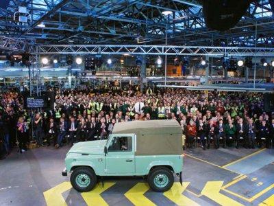 ¡Goodbye Defender! El último Land Rover Defender se fabricó el pasado viernes