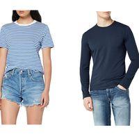 Chollos en tallas sueltas de pantalones, faldas y camisetas de marcas como Levi's, Pepe Jeans o Lee en Amazon