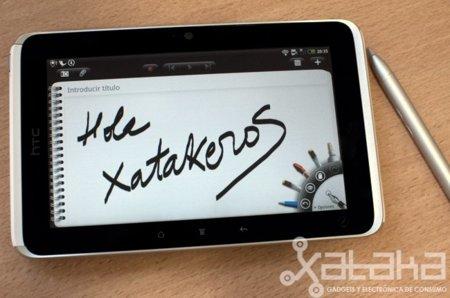 HTC Flyer, análisis de un tablet diferente