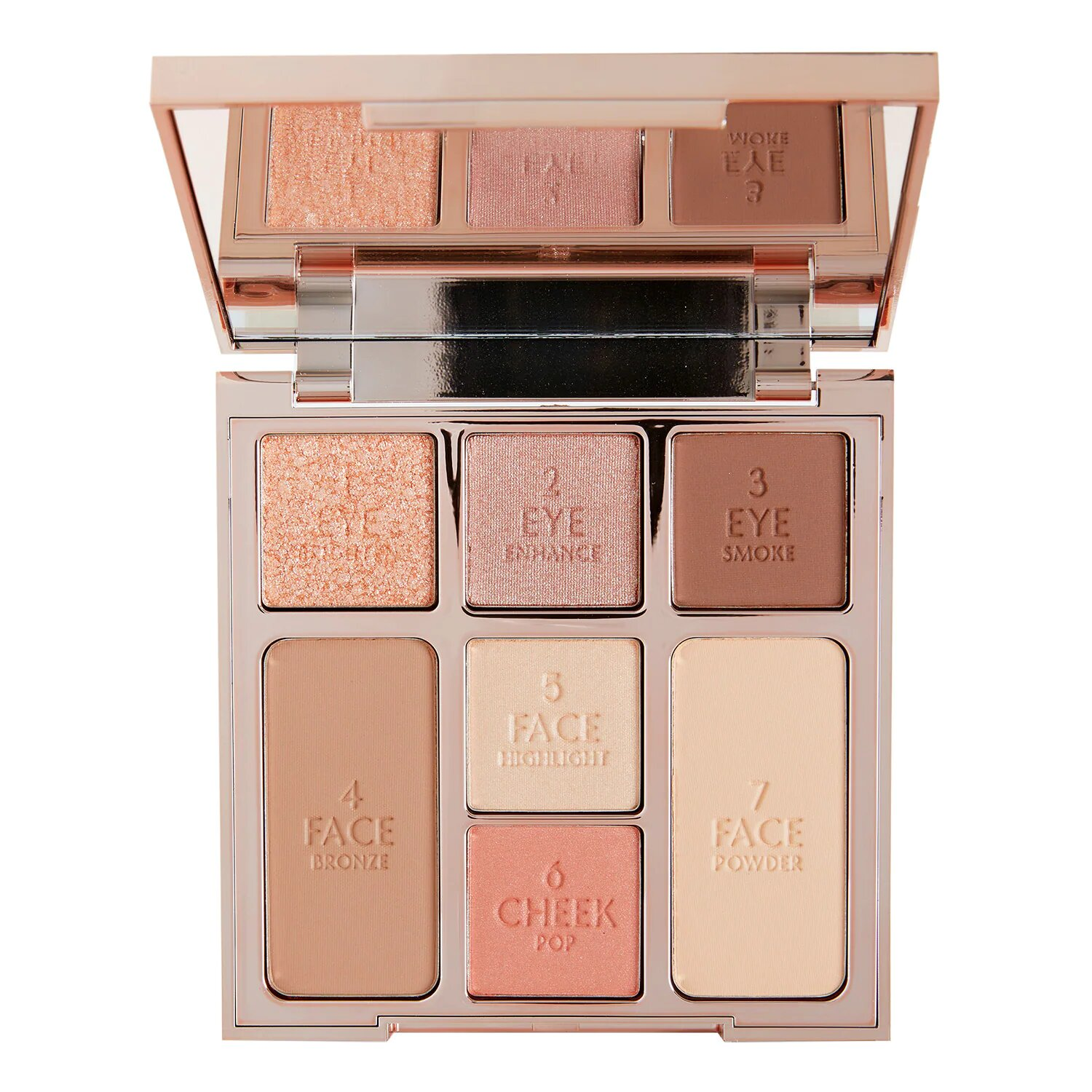 Instant look Pretty blushed beauty