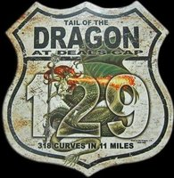 Las curvas peligrosas de Tail of the Dragon