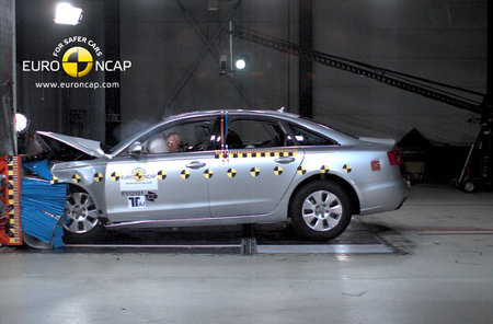 Audi A6 EuroNCAP