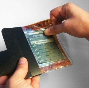 PaperPhone: el móvil flexible