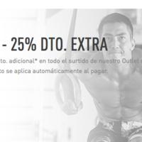 25% de descuento extra durante el día de hoy en el outlet de Reebok