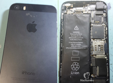 Aparecen imágenes del supuesto iPhone 5S con batería de mayor capacidad y flash de doble LED