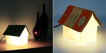 Book Rest Lamp, una lámpara para guardar tus libros
